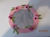 9 inch Hand Decorated Accent Mirrors