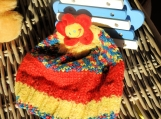 Child's Multicoloured Daisy Hat - Free Shipping