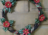 Christmas Wicker Wreath