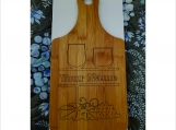 Cutting Board Personalized Laser Etched Bamboo