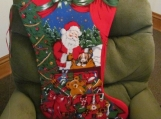 Giant handmade Holiday Stocking