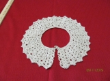 Ecru  Crocheted Collar