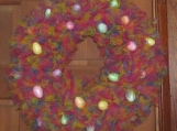 Pastel Easter Wreath