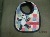 Self-Adhering Teddy Bear Bib