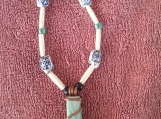 Aventurine Necklace with China Turtles