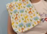 Baby Animals burp cloth