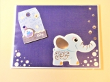 Baby Boy Elephant Greeting Card