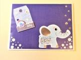 Baby Boy Elephant Greeting Card