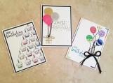 Birthday Card Set/ Greeting cards