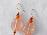 Brown/Orange Earrings