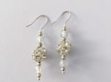 Clear Rhinestones Earrings
