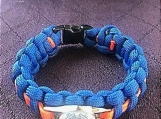 Coast Guard paracord bracelet