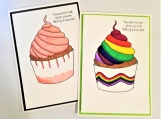Cheer Up Greeting Card Set/ You cant be sad