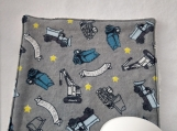 Gray Truck facecloth