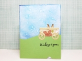Happy Easter Sliding Pop-Up Card