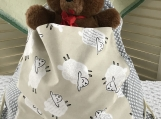 Kids Theme Drawstring Bag And Pillowcases Just For Ewe