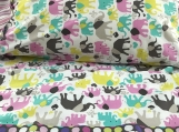 Kids Theme Pillowcase - 2 Pairs - Walking Elephants