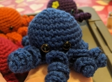 Mini Stuffed Octopus