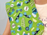 Monster Trucks Baby Burbcloth
