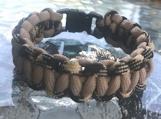 Survival bracelet olive colors