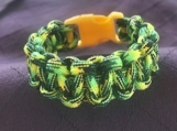 Paracord green/yellow camo