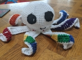 Rainbow Octopus Stuffed Animal
