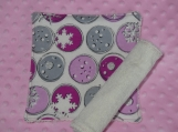 Snowflakes washcloth