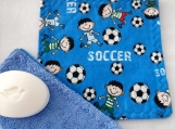 Soccer facecloth