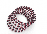Stainless Steel Memory Wire glass bead Bracelet