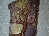 Tree of Life Pendant with Mookite