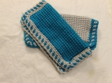 Tunisian crochet wash cloths