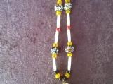 White Buffalo Turquoise Necklace