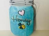 Wooden Honey jar