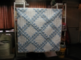 Baby Blue Toddler quilt