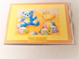 Baby Boy Oh Baby! Greeting Card