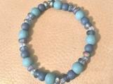 Bracelet - blue blue blue