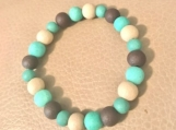 Bracelet - brown/turquoise