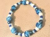 Bracelet - plastic beads