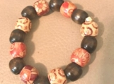 Bracelet - wooden beaded