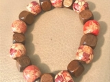 Bracelet - wooden beads