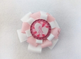 Breast cancer Hair clip