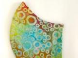 Circle Batik Print Mask