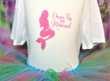 Dream Big Little Mermaid t-shirt and Tutu set (size 5 years old)