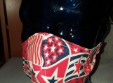 Face Mask-1 adult Stars & Stripes Mask, Reusable, Double layered