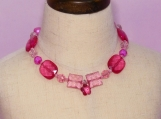 Fushia Children Necklace