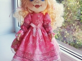Hand-Crafted Doll Mary