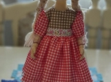 Hand-Crafted Doll Milena
