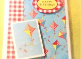 Happy Birthday Kite Greeting Card