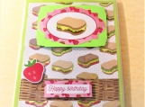 Happy Birthday Sandwiches Greeting Card