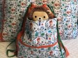 Kids Theme Pillowcase and Drawstring Bag Childish Fun